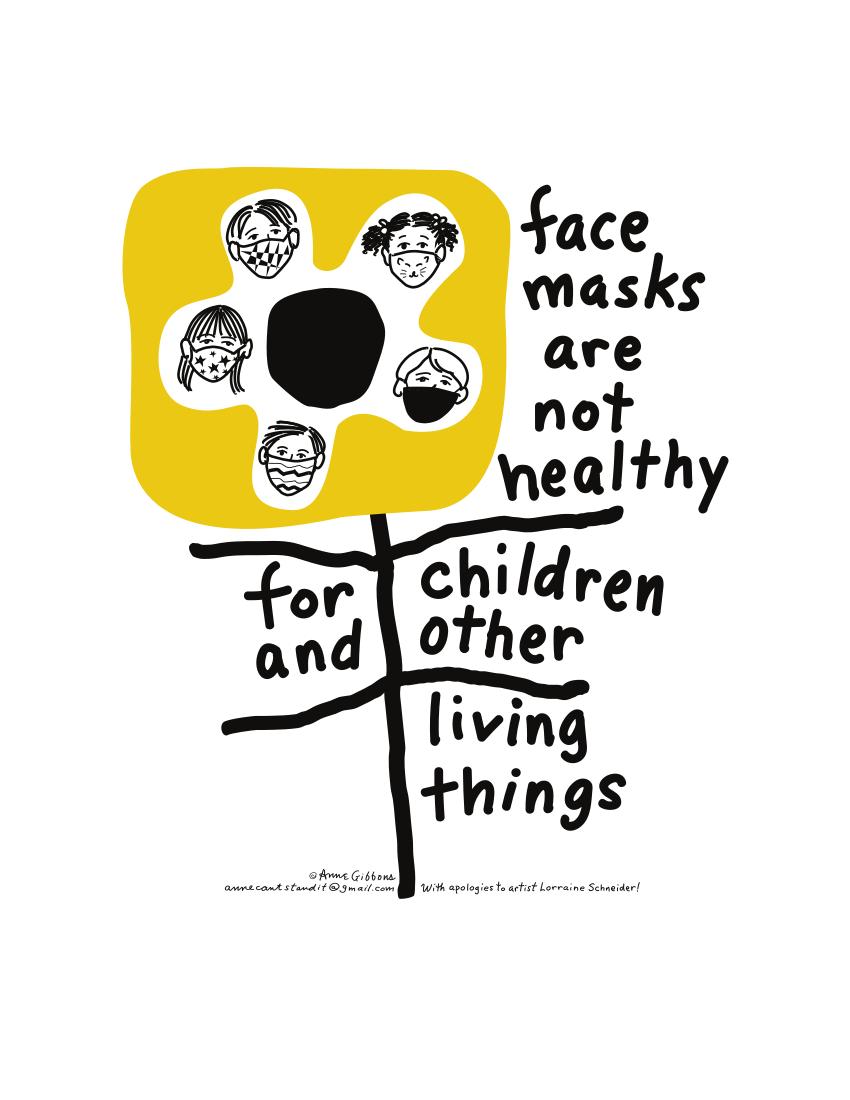 Face Mask Flyer - Front